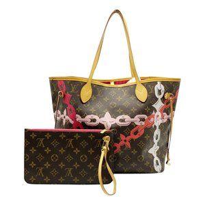 Louis Vuitton Neverfull Bay Mm Rose Ballerine